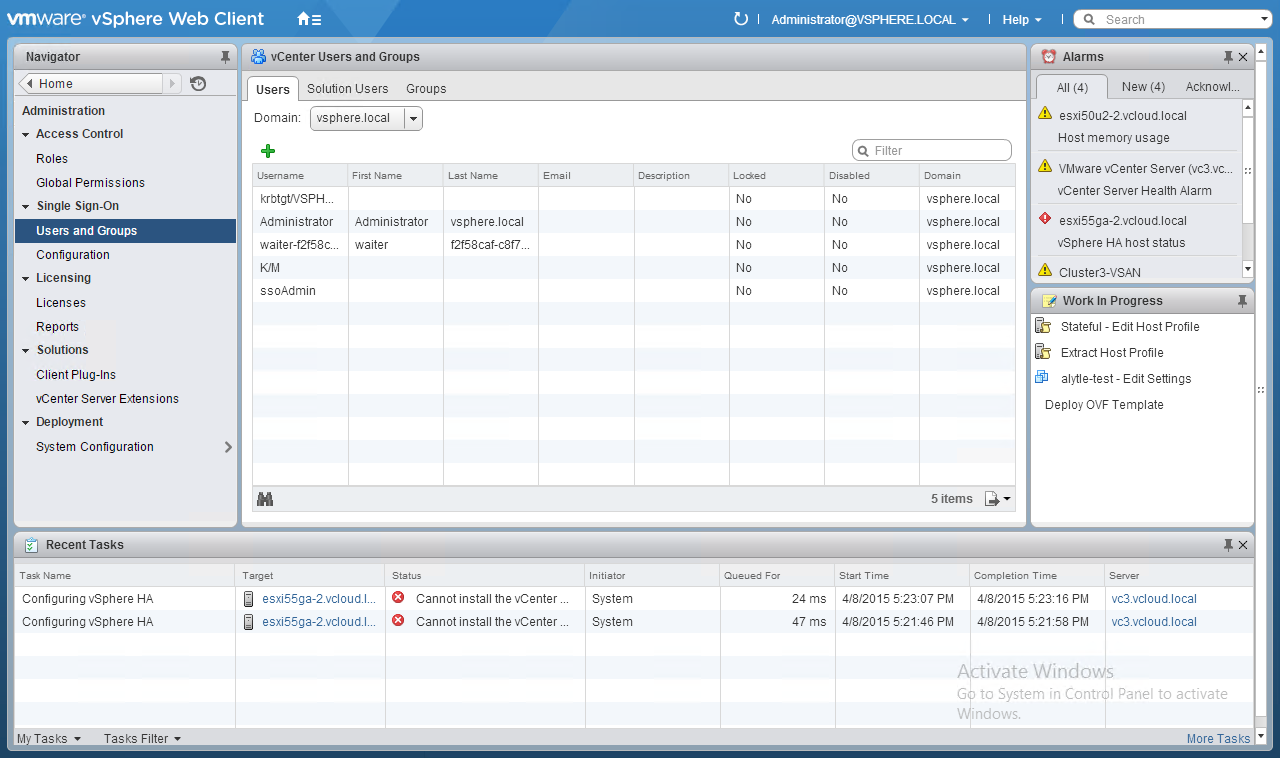 What is a Platform Services Controller (PSC) in vSphere 6 0