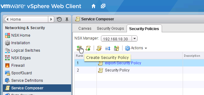 how to create security groups