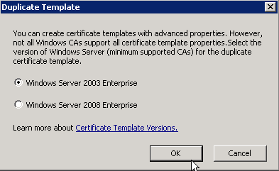 Creating microsoft ca templates for certificates in vsphere 60 provide a template display name then click on the extensions tab yadclub Choice Image
