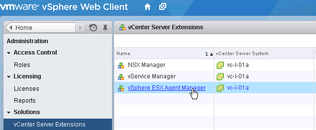 Unable to deploy NSX VIBs after updating certificates in vSphere 6 0