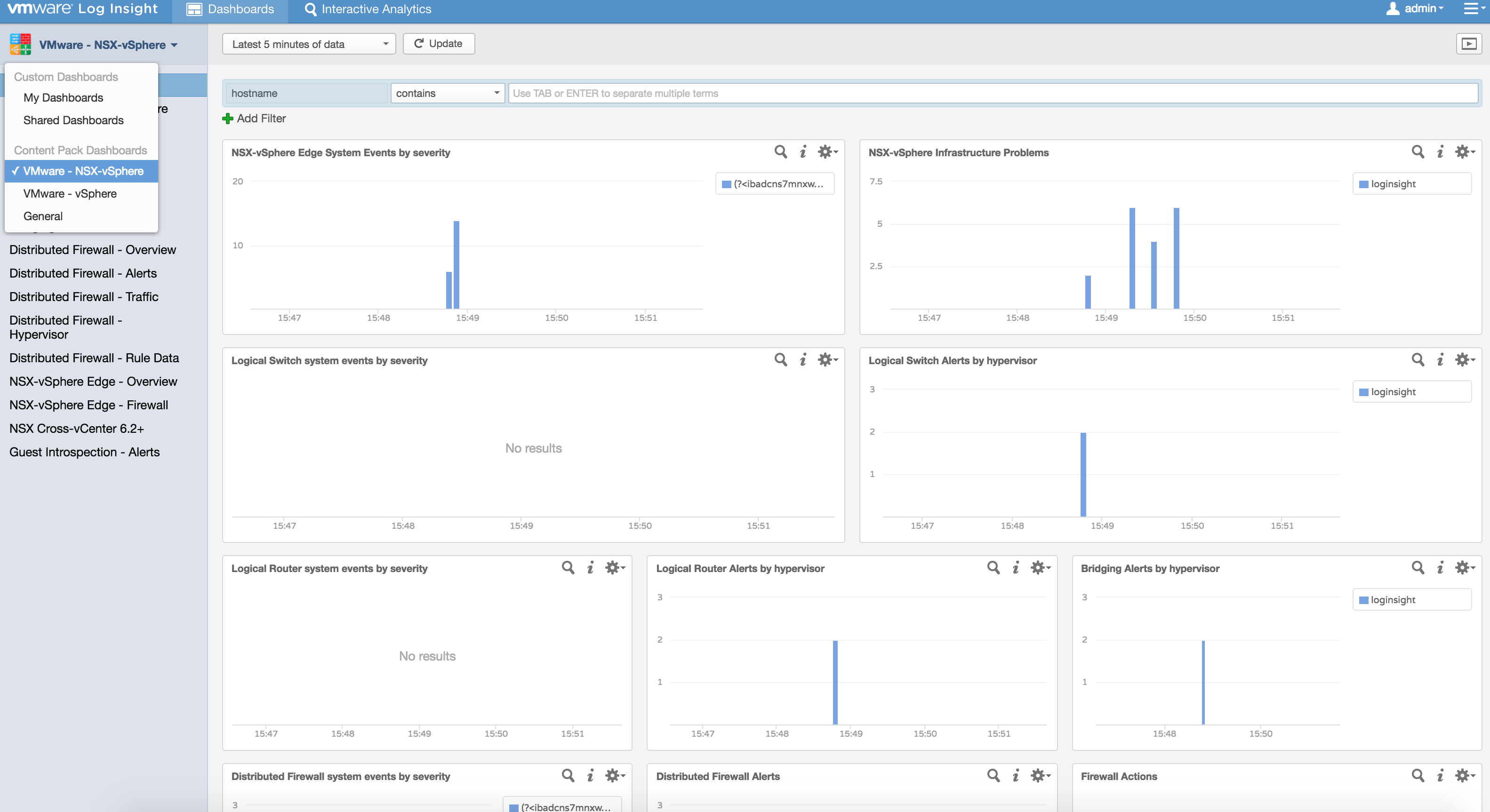 Deploying vRealize Log Insight with NSX Content Pack