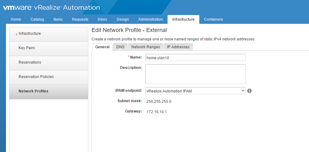 vRealize Automation 7 2 Deployment Part 5 – Creating Reservations